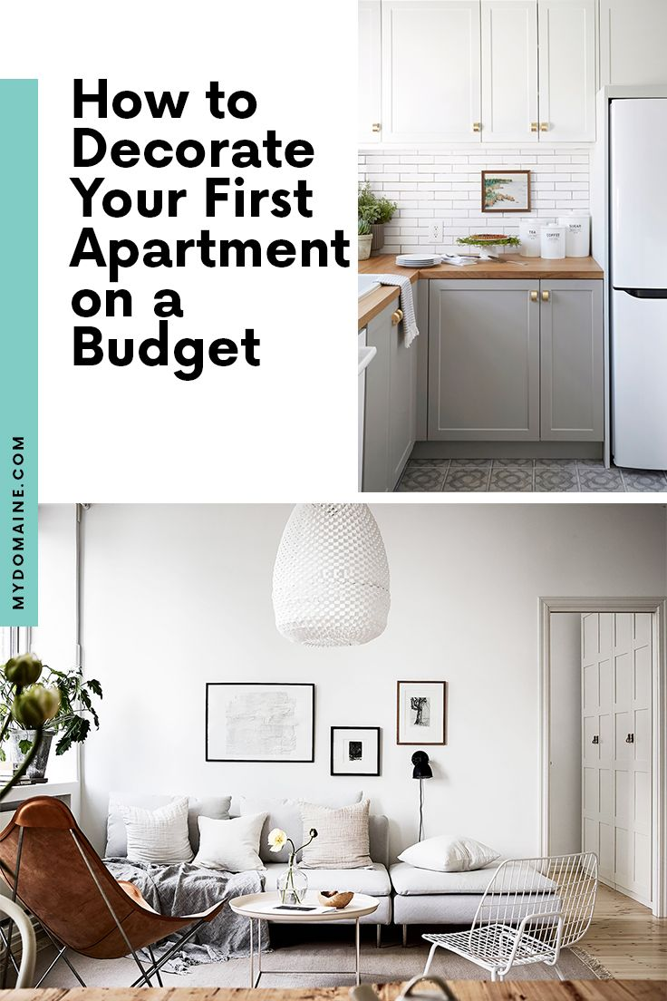 Family Room Design Ideas On A Budget: How To Decorate A First Apartment (Without Going Broke