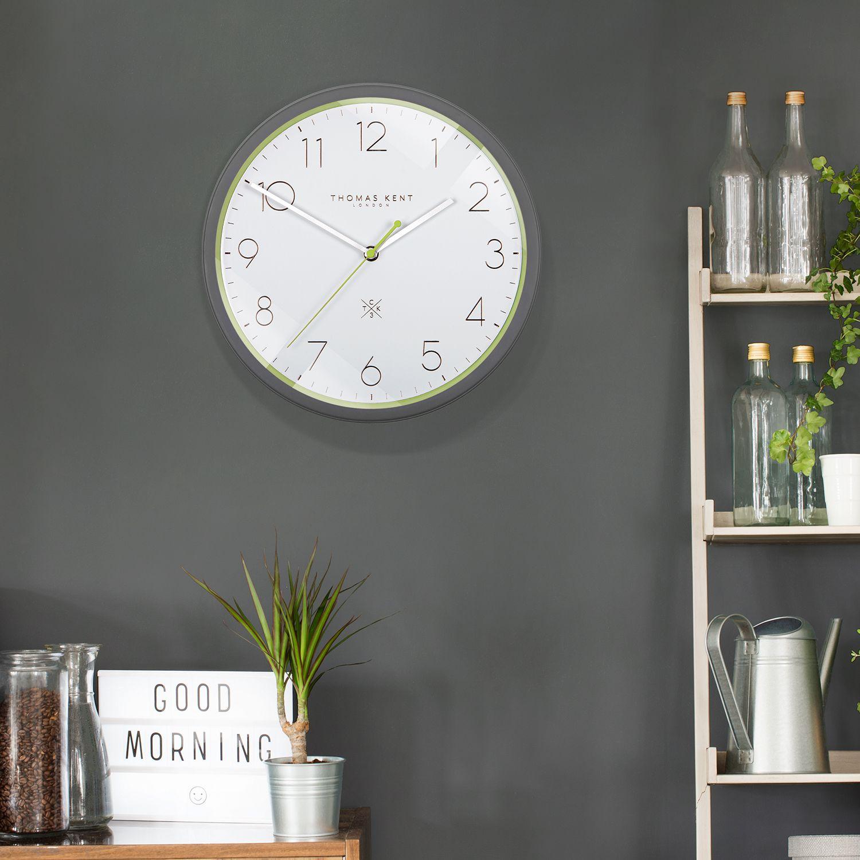 3 Citron Wall Clock Clocksmith No 3