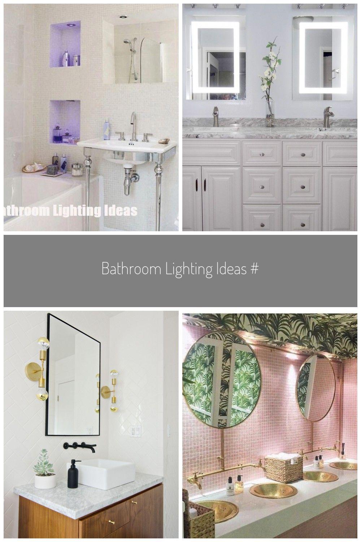Bathroom Lighting Ideas Bathroomlightfixtures In 2020 Badezimmer Licht Badezimmer Badezimmer Regal