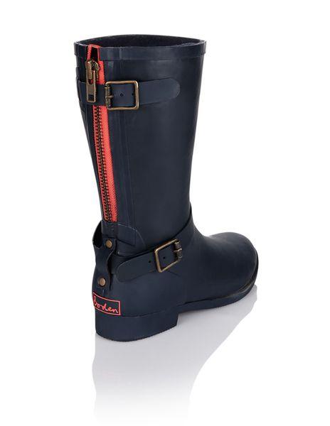 Biker Wellie AZ203 Boots at Boden | hadry | Boots, Shoe