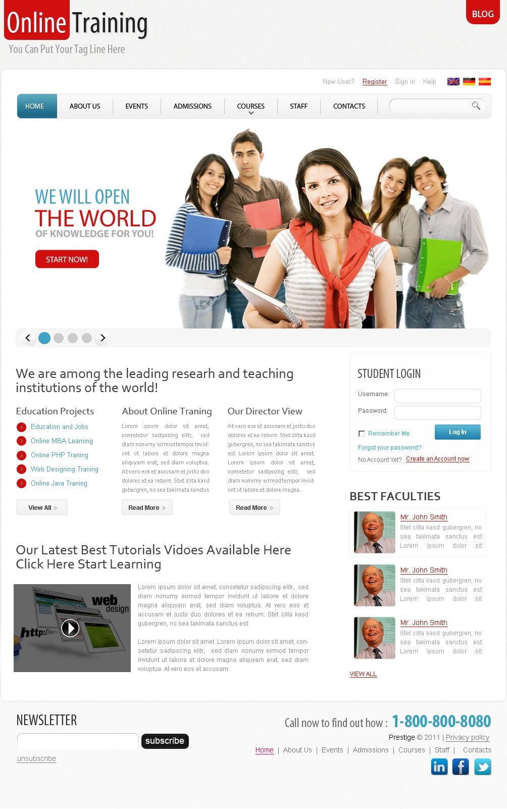 This website layout design for demo template for online education this website layout design for demo template for online education learning website i work on maxwellsz