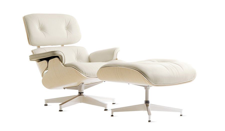 HERMAN MILLER Eames Lounge   Ottoman Pearl MCL Leather White Ash AUTHENTICHERMAN MILLER Eames Lounge   Ottoman Pearl MCL Leather White Ash  . Eames Lounge Chair And Ottoman Walnut Frame Standard Leather. Home Design Ideas