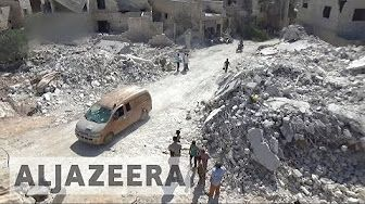 2:06  Civilian deaths mount after Syrian regime loses ground