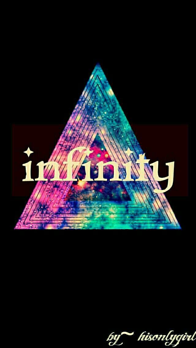 Hipster infinity dark galaxy wallpaper I created