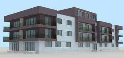 Free 3d Model - 3d Residence Building - Quality 3d Models
