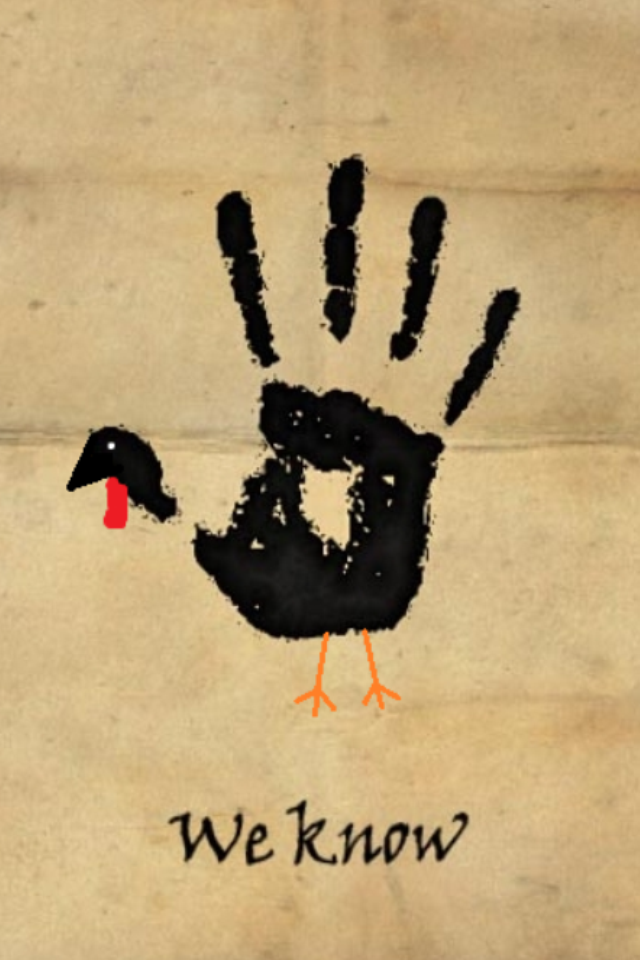 'We Know' Skyrim Assassin's Guild Turkeyday Printable