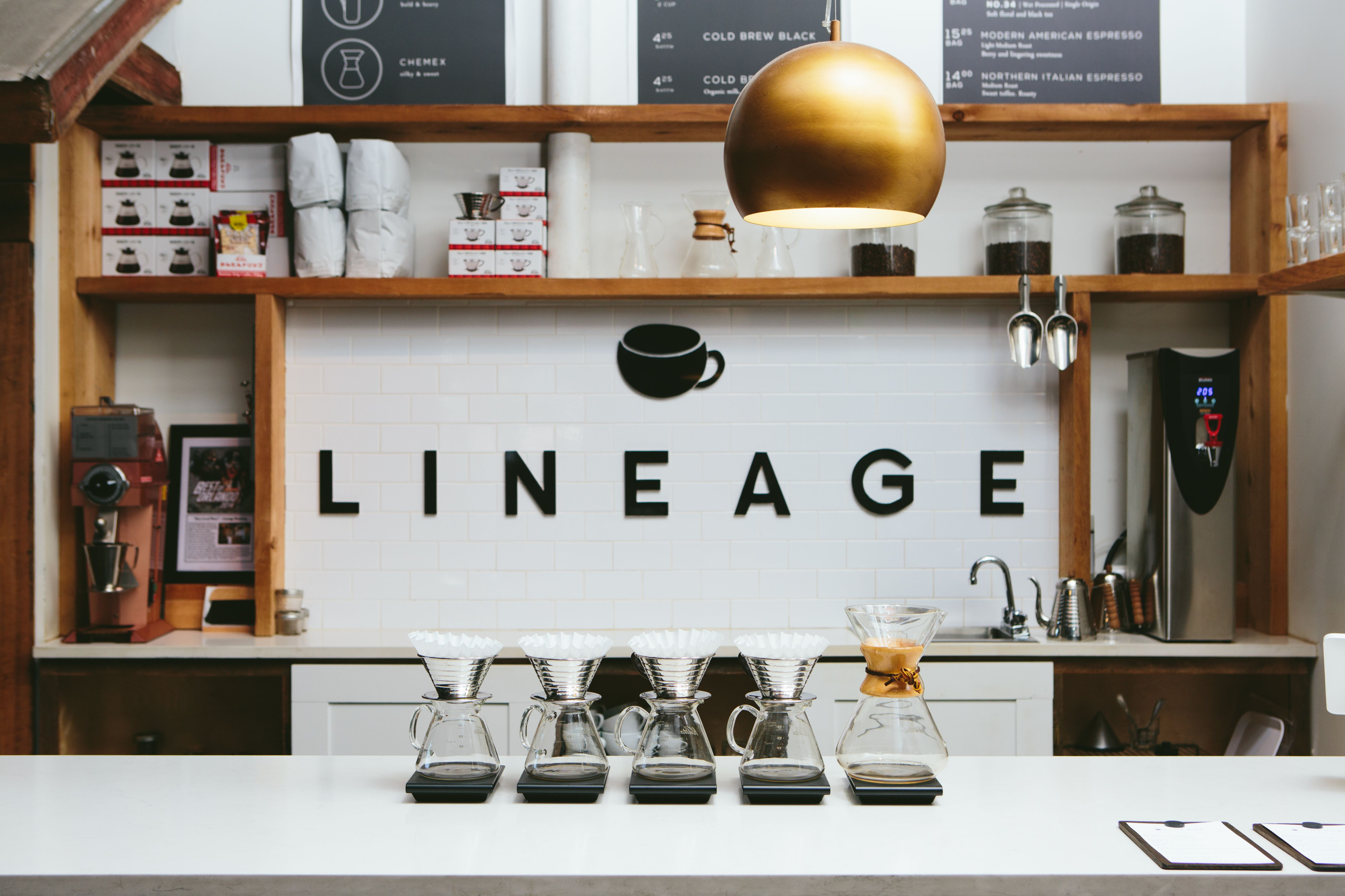 Lineage coffee roasting the best coffee shop in florida