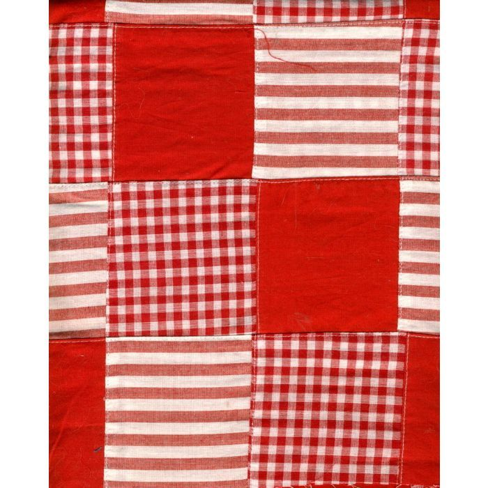 Quilted Cotton/Cotton Blend Red & White Stripe, Check & Solid Craft Fabric Listing in the Other,Yardage,Fabrics,Crafts, Handmade & Sewing Category on eBid United States | 147697954