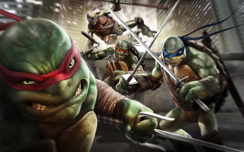 Teenage Mutant Ninja Turtles Out Of The Shadow Games Wallpaperine Ninja Kaplumbagalar Kaplumbagalar Ninja