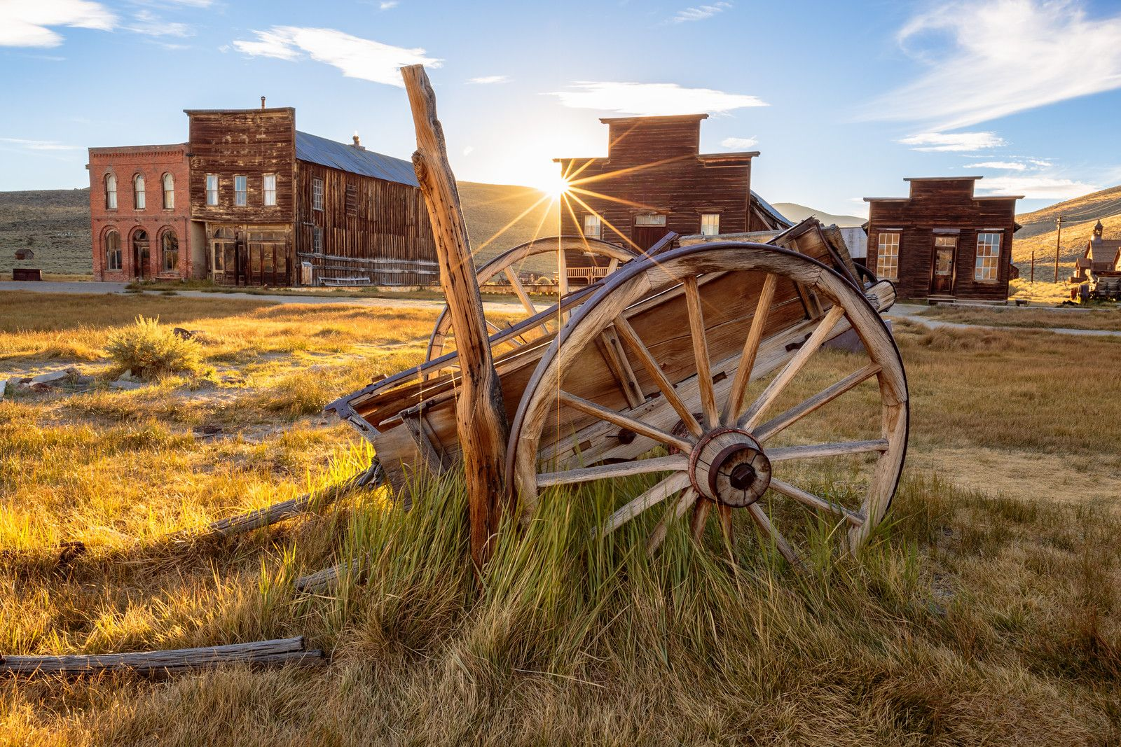 Main Street, Bodie State Historical Park www.optimalfocusphotography.com