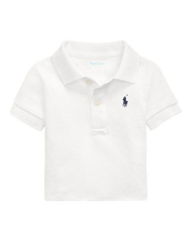 650b3ddd Baby Boys' Polos: Short and Long Sleeved Polo Shirts | Ralph Lauren ...