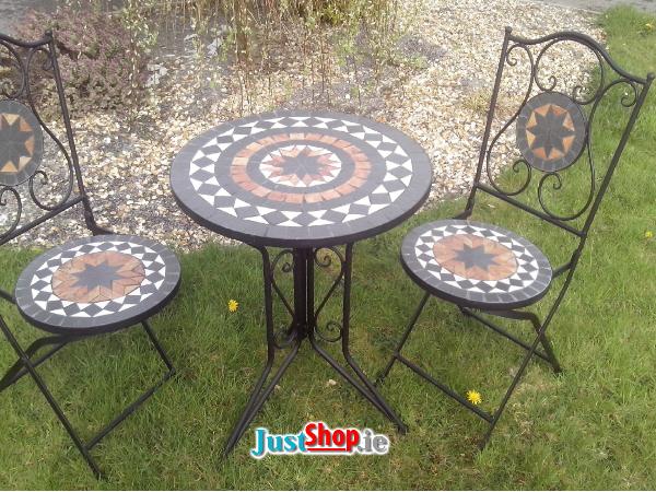 Mosaik Bistro Tisch Und Stuhle Tisch Und Stuhle Mosaik Mosaiktisch