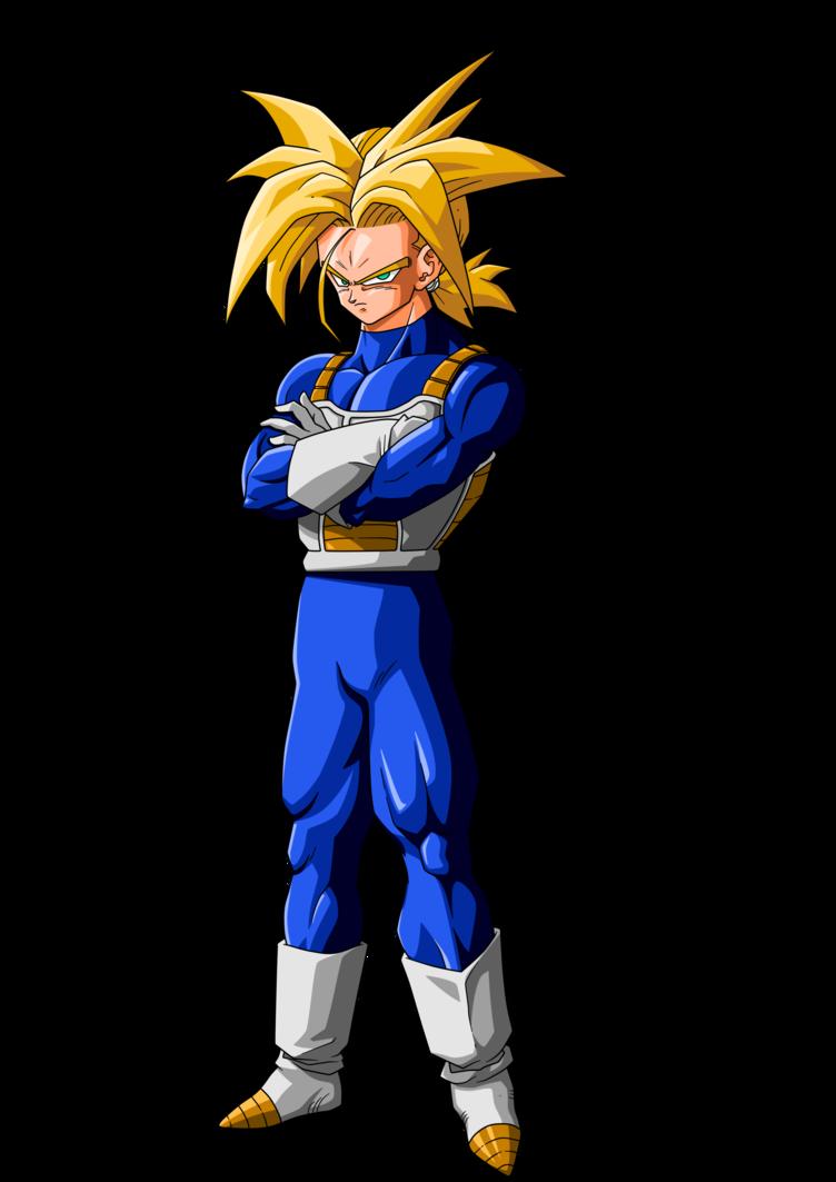 Trunks Ssj Future Render By Projectsalex Dragon Ball