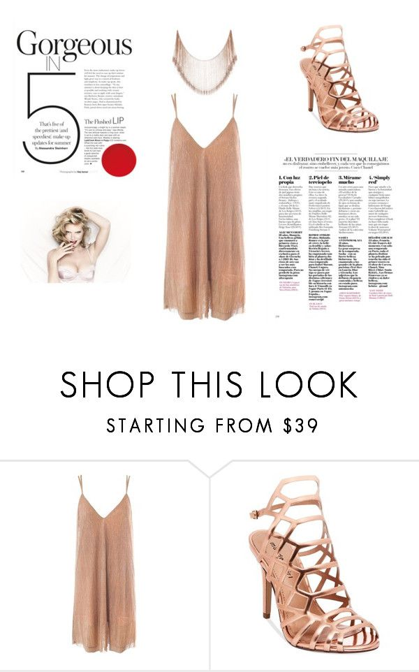 """""""Shimmer"""" by bonniebluebonnet on Polyvore featuring Sans Souci and Madden Girl"""