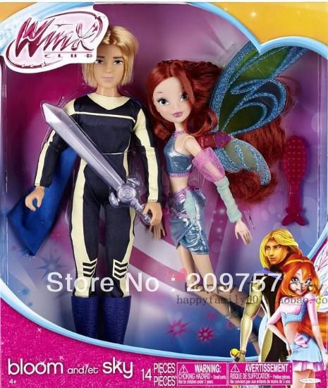 Winx Club Deluxe Fashion Doll Bloom & Sky 2 Pack