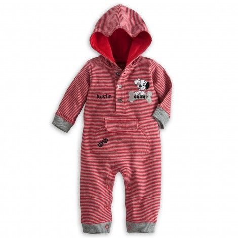 101 Dalmatians Hooded Romper for Baby - Personalizable