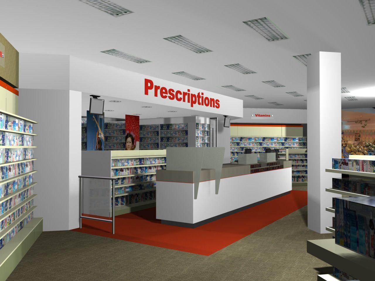 Wonderful Pharmacy Interior Design Good Home Design Simple To