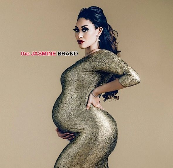 Over-the-Top Celebrity Maternity Photoshoots - Marie Claire