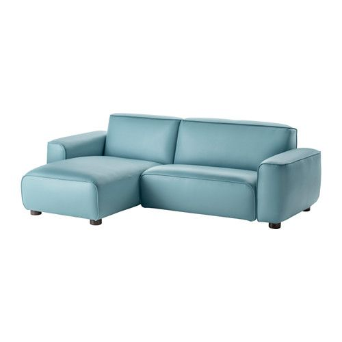 DAGARN Loveseat with chaise Kimstad turquoise IKEA 699 Also
