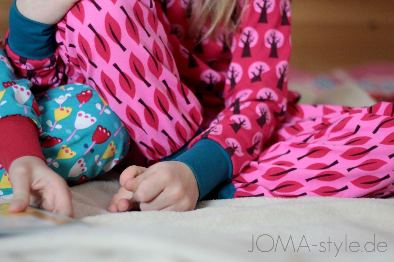 Über Geschwister-Liebe, Leselust und neue Schlafanzüge