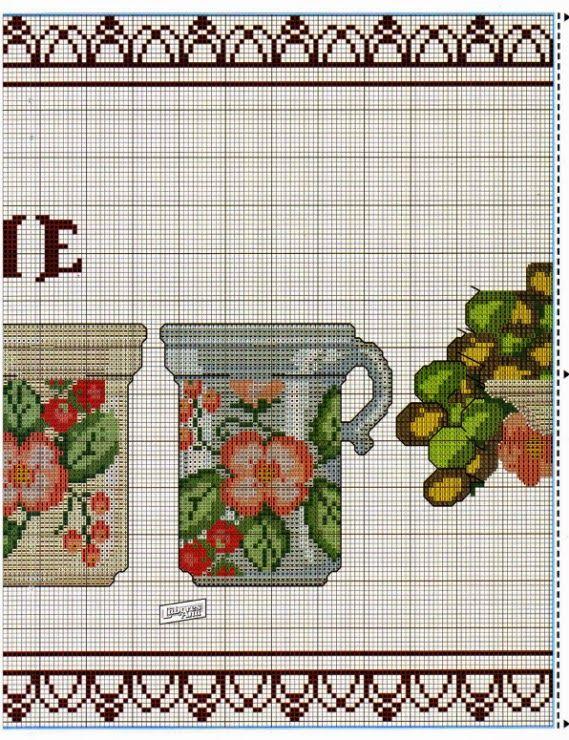 Lú cantinho do bordado e da cozinha: PONTO CRUZ | Needlework ...