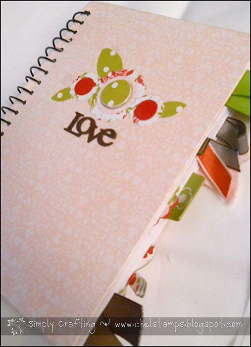 a fun notebook.  #notebooks #journals #altered_books