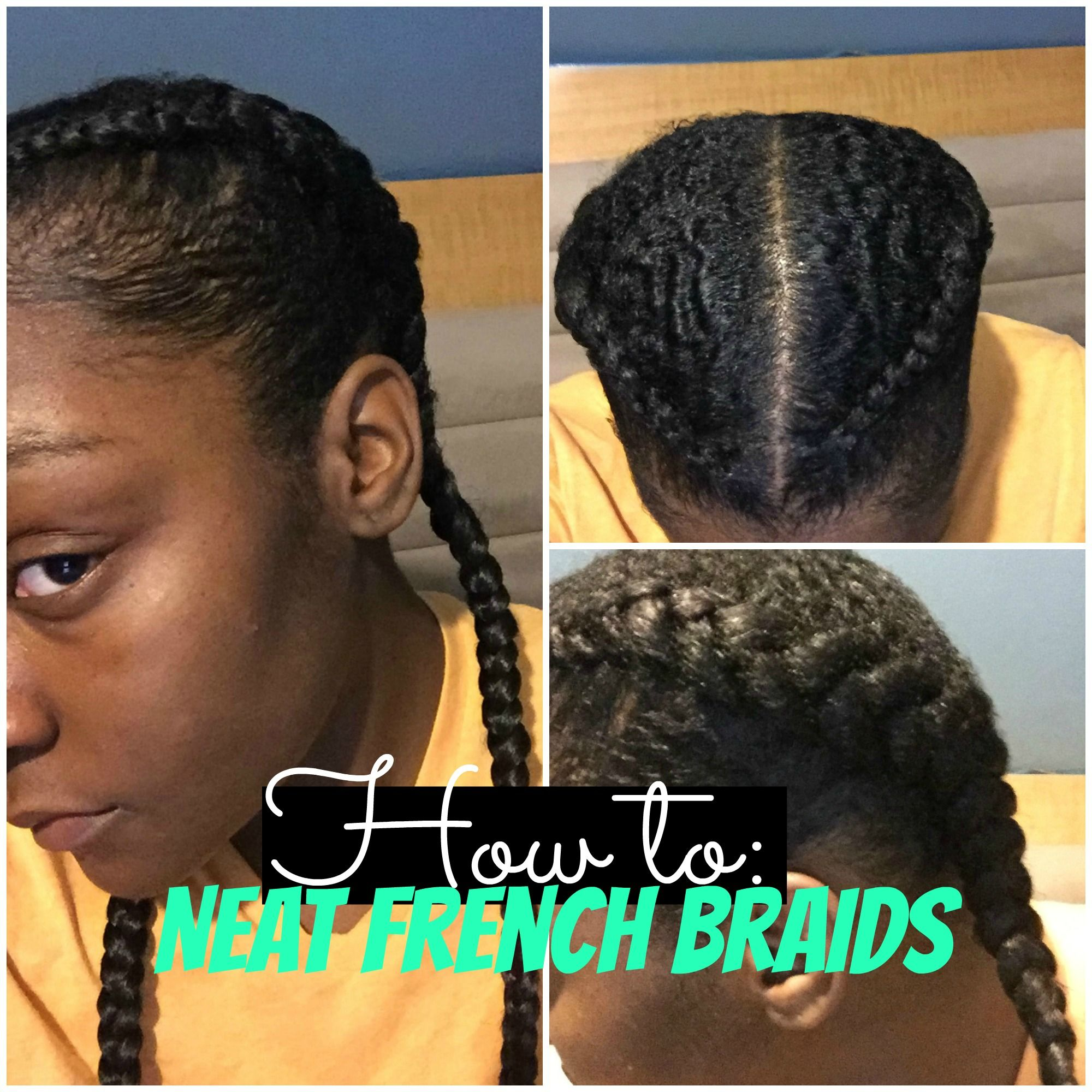 How to make your french braids neater tight grip effect for how to make your french braids neater tight grip effect for beginner braiders if ccuart Choice Image