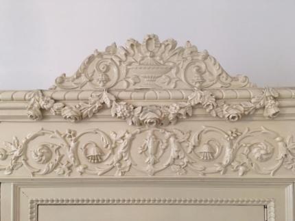 Wunderschönes Chippendale/Barock Schlafzimmer komplett in ...
