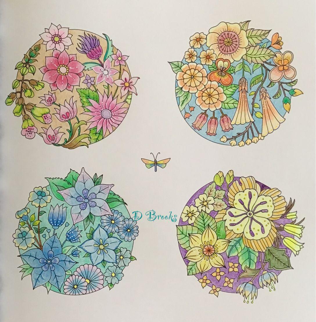 From world of flowers by johanna basford worldofflowers