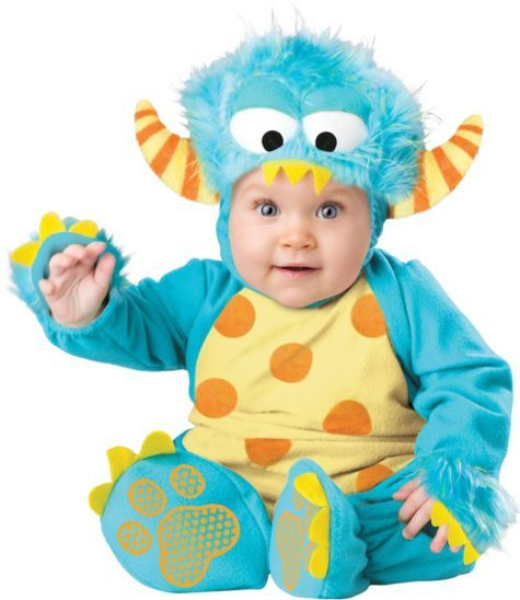 baby mini monster costume party city - Baby Monster Halloween Costumes