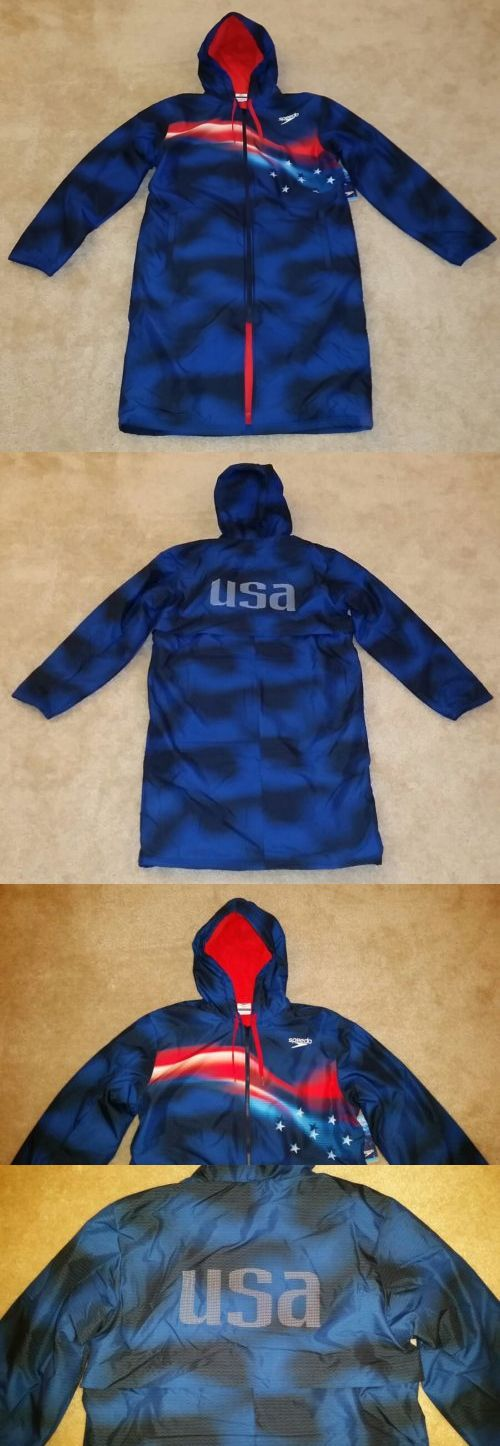 Other Swimming 36269: Speedo Rio 2016 Team Usa Olympic Hooded Swim ...