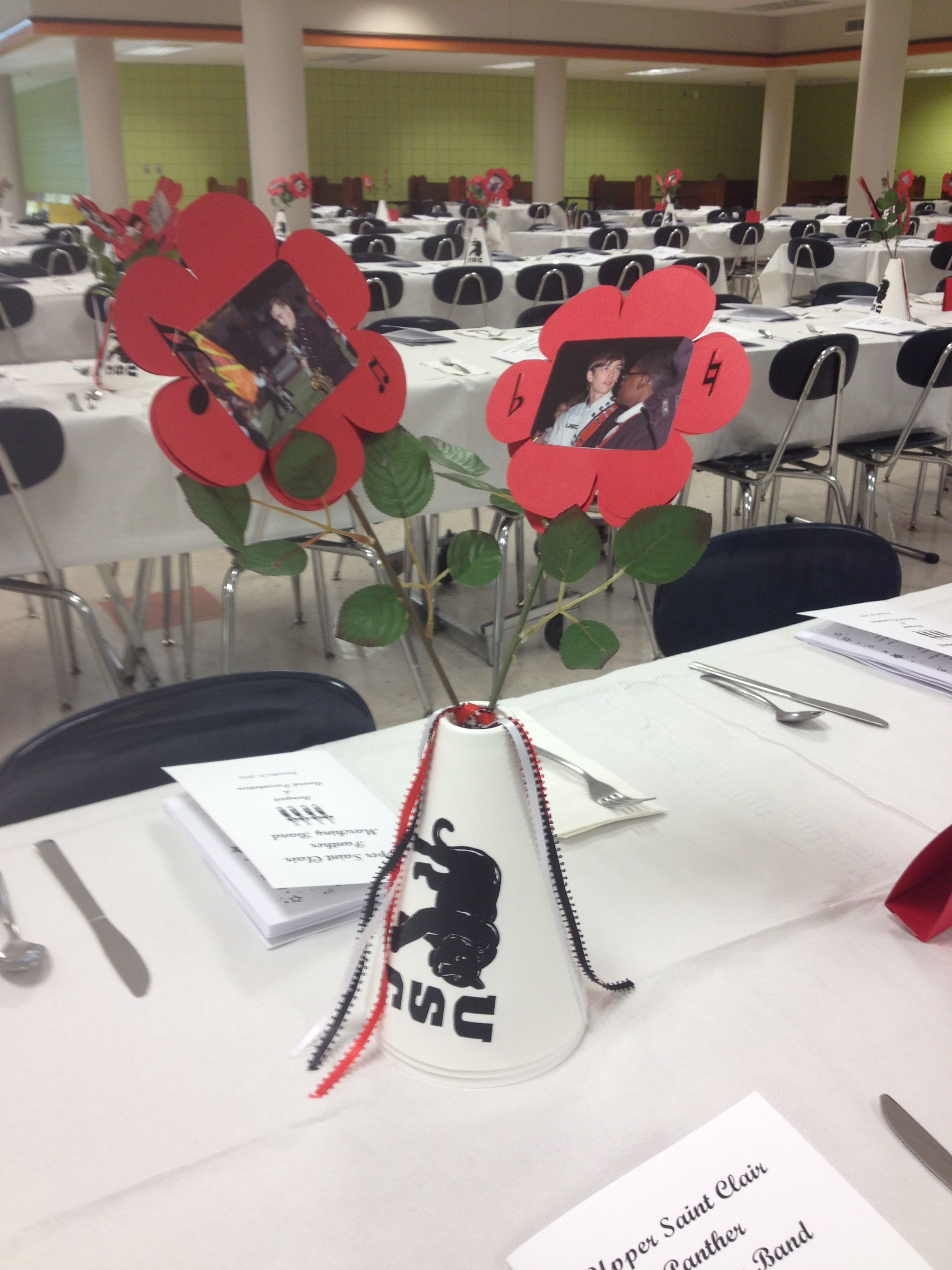 Another Band Banquet Centerpiece Decoration Idea We Ve