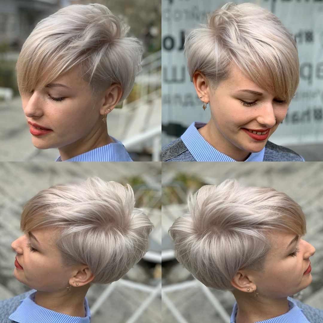 Feminine Pixie Haircuts Ideas For Women In 2020 Year Blonde Pixie Hair Short Hair Styles Pixie Hair Styles