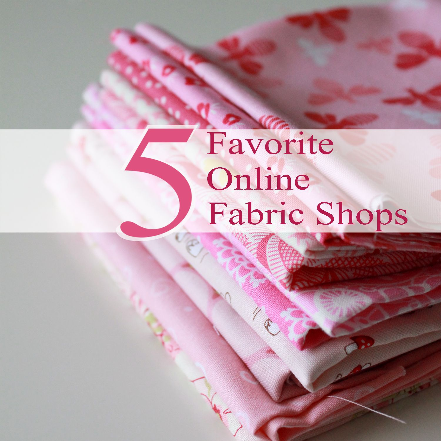 Five Friday Favorites Online Fabric Shops Fabric shop
