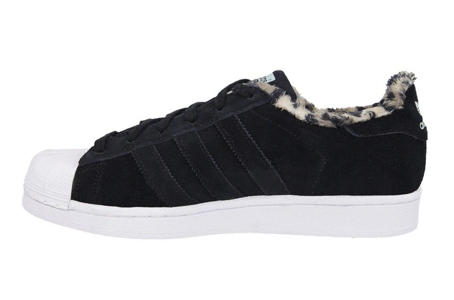Adidas Originals Superstar B35434 W Leopard Core Black