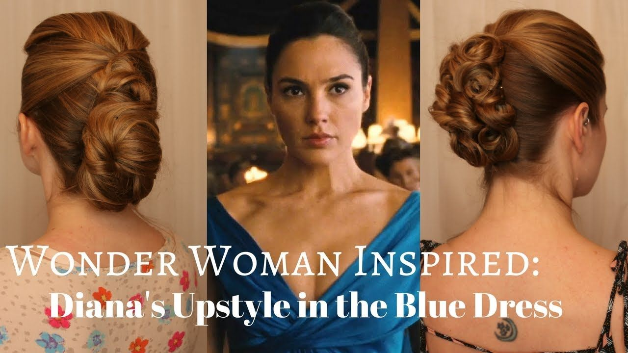 Wonder Woman Inspired 2 Inspired Versions Of Dianas Upstyle In The