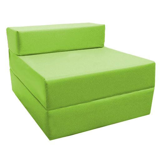 Fold Out Foam Guest Z Bed Chair Ideal For Kids Sleep Over