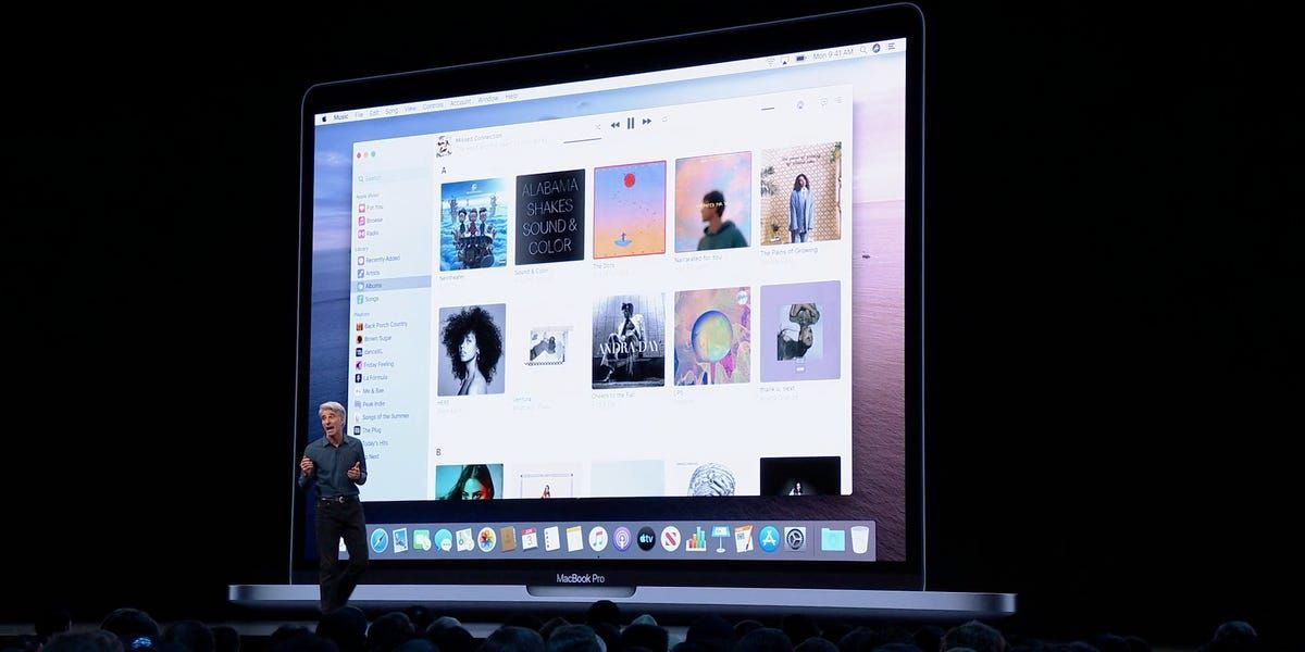 The contents of iTunes will now be split up between three