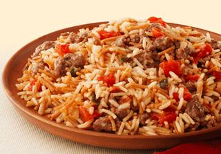 Zesty Spanish Beef And Rice Recipe Recipe Spanish Rice Rice A Roni Spanish Rice Recipe Ricearoni Recipes