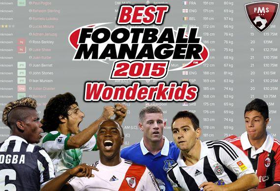 Best FM 2015 Wonderkids shortlist feature