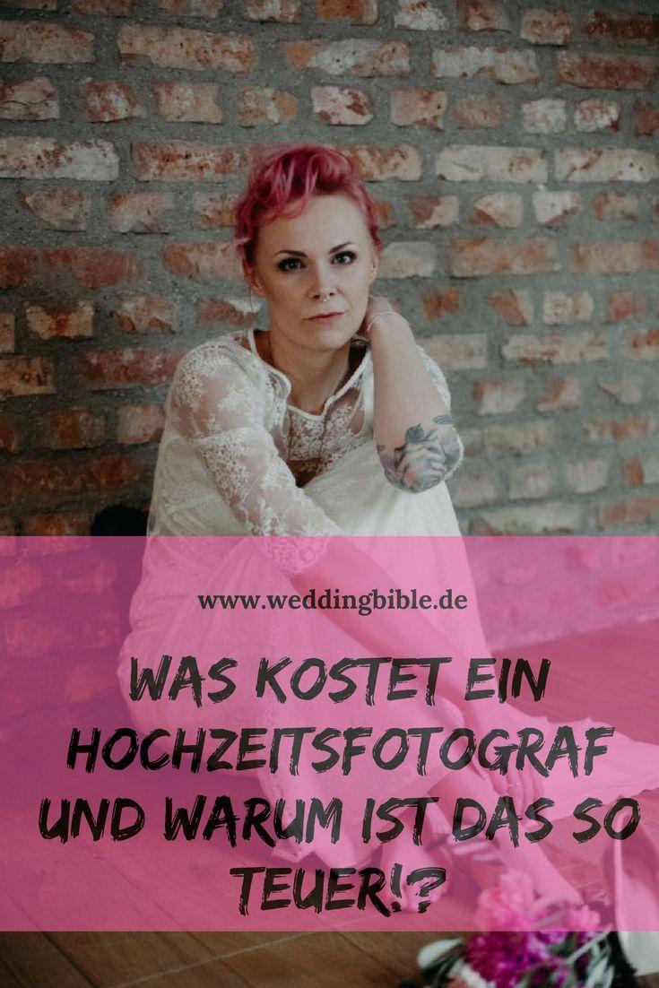 warum kosten Hochzeitsfotograf so viel? Der Preis pro Stunde für den ...