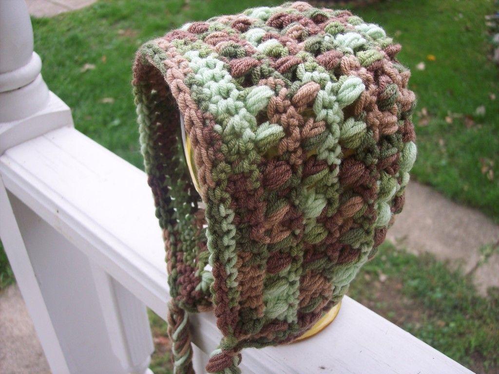 puff bonnet FREE pattern | Gorritos | Pinterest | Crochet para bebes ...