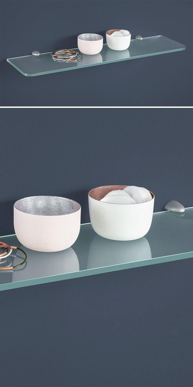 ROUND+JAM Glasablagen | Glasregal, Glasablage und Badezimmer