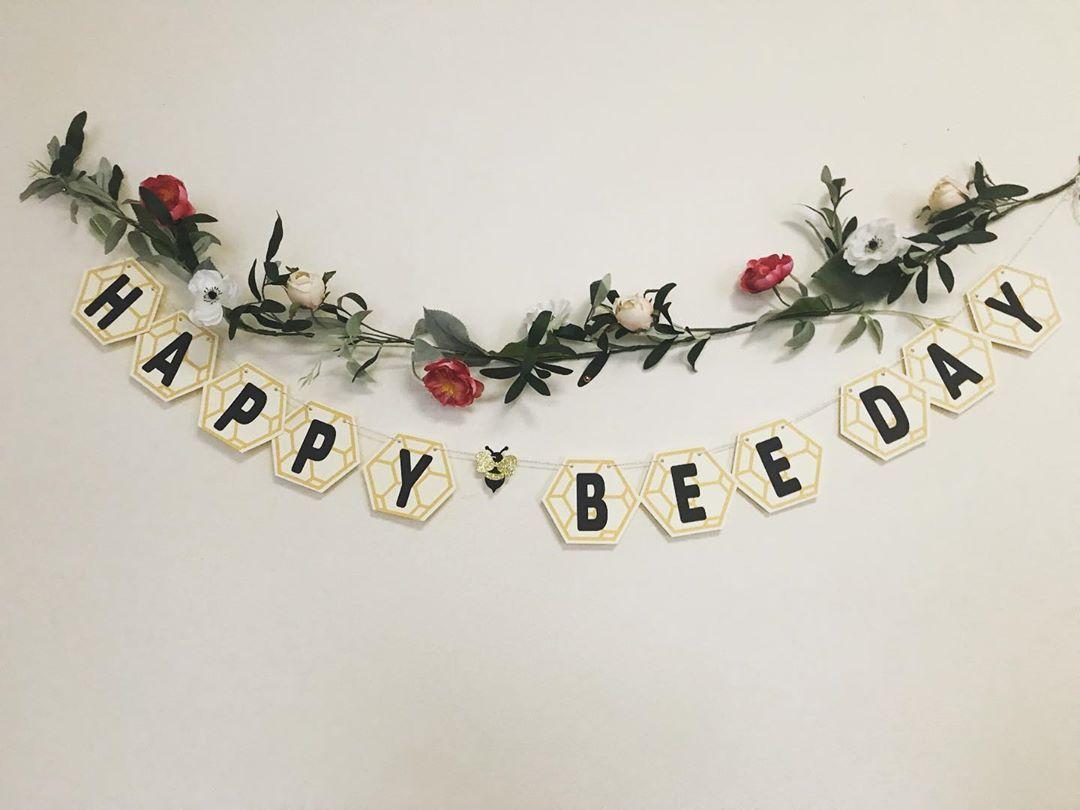 🐝 Birthday Banner