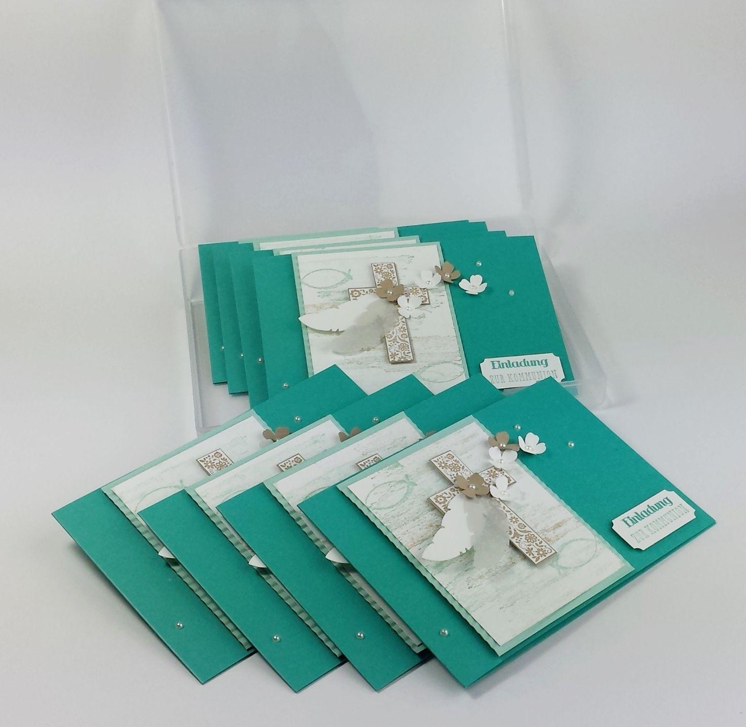 einladungskarte oder gl ckwunschkarte f r kommunion konfirmation oder taufe selbst gestalten. Black Bedroom Furniture Sets. Home Design Ideas
