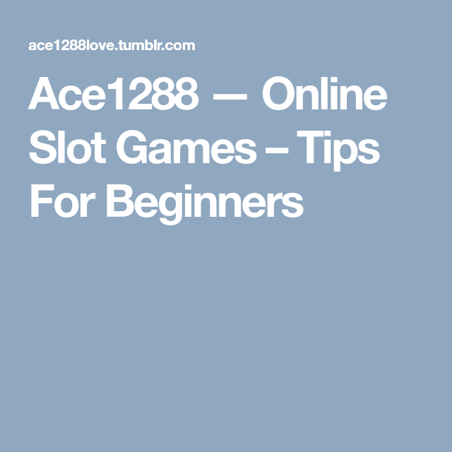 Slot Games Tipps
