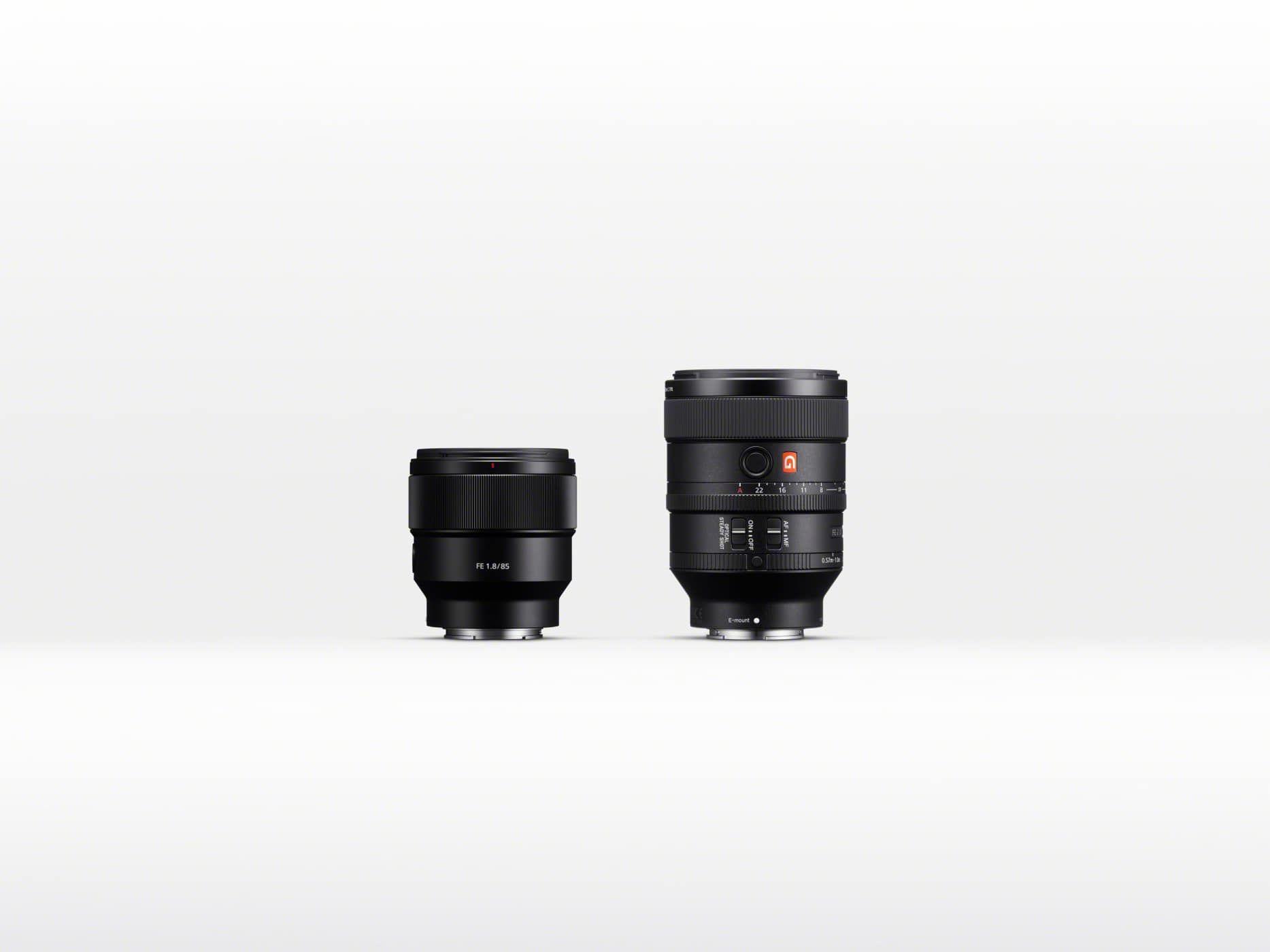 Sony präsentiert mit dem SEL100F28GM und SEL85F18 zwei neue Sony FE ...