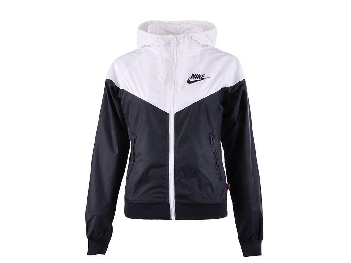 White nike hoodie, Nike windbreaker jacket