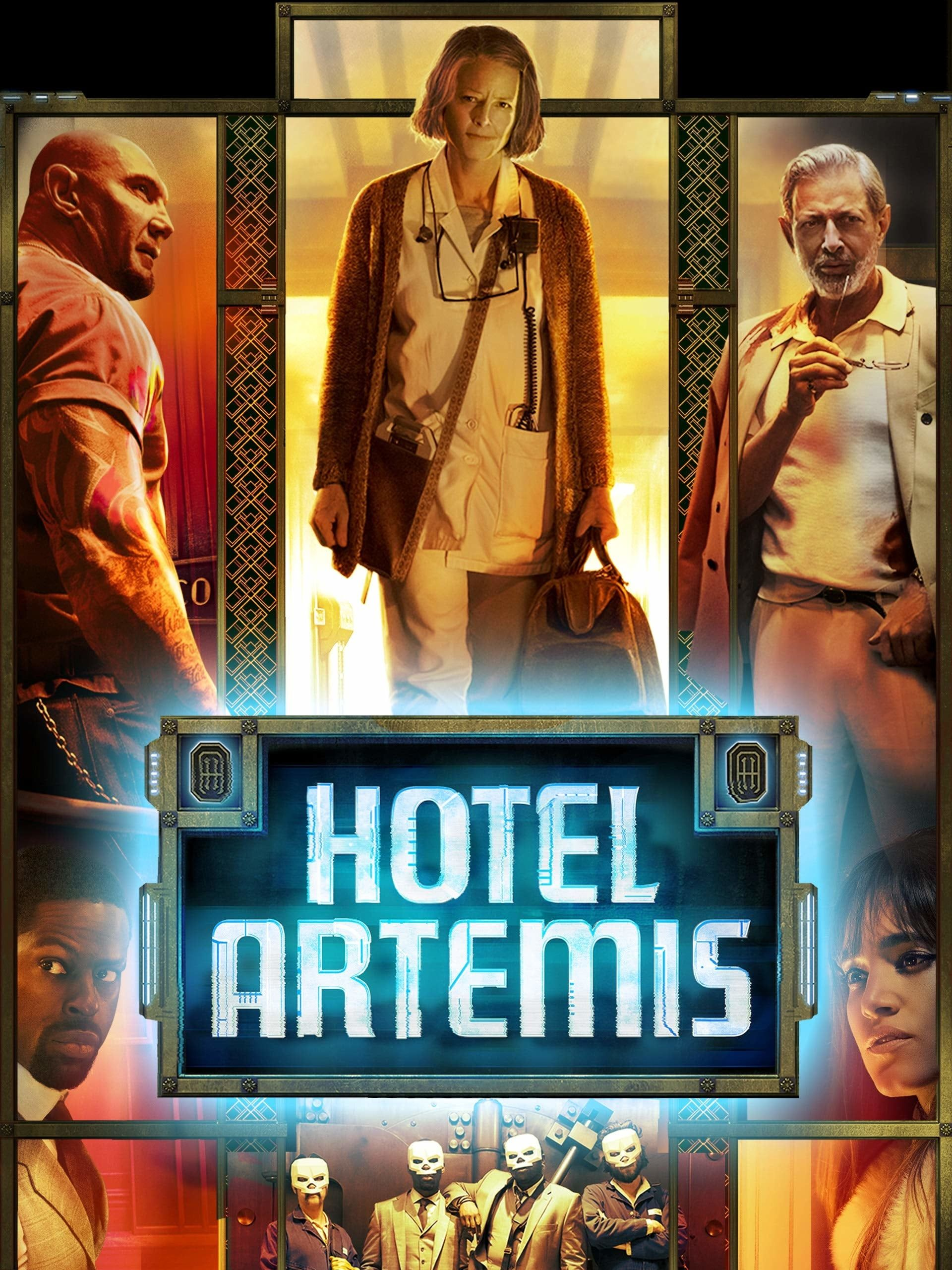 Hotel Artemis Pelicula Completa 2018 Espanol Latino Gratis En