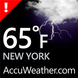 Accuweather app is now available for WP8 with lockscreen